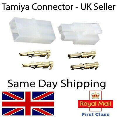 Tamiya Male Female Pairs Plug Connectors Battery-ESC-Lipo-Charger Models RC UK • 2.65£