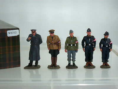 King And Country Ws312 German Army Last Parade Metal Toy Soldier Figure Set • 299.99£