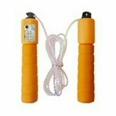Orange Kids Skipping Rope With Counter Children Exercise,Fitness Activity • 7.99£