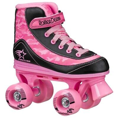 RD Firestar Adults/Childrens Pink Camo V2 Quad Roller Skates UK11J • 34.95£