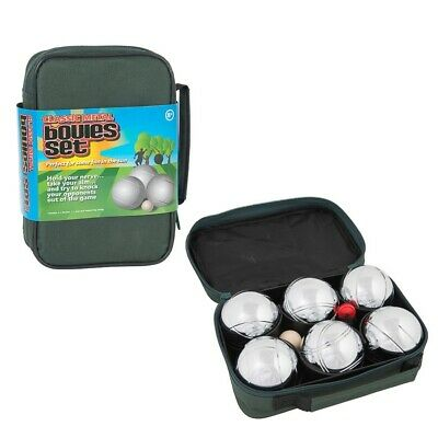 Metal Boules 6 Set Outdoor Classic Summer Garden Game For Adults Kids  • 15.95£