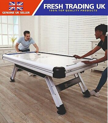 MD Medal Sports 89  7.4FT X 4FT Air Powered Hockey Table - LED Electronic Scorer • 499.99£