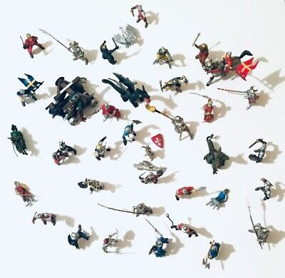 Papo Simba Knights Britains Ltd 1971 Horses And Dragons Figures X43 Bundle • 35.99£