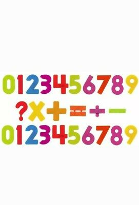 Magnetic  Numbers Fridge Magnets Toys Kids Learning Magnets 26 PCS • 3.89£