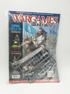 Wargames Illustrated - Issue 375 January 2019 - Empire Building  • 4.99£