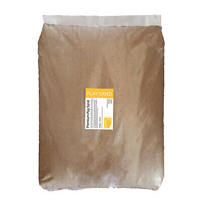 PLAY SAND | 25KG BAG | Children Play Sand Pits | Clean Dry Non Staining / Toxic • 17.50£