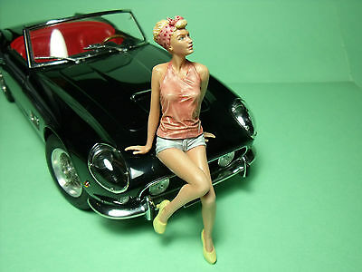 1/18  Girl  Figure  Romy  Vroom  Not  Painted  For  Minichamps  Autoart  Cmc • 29£
