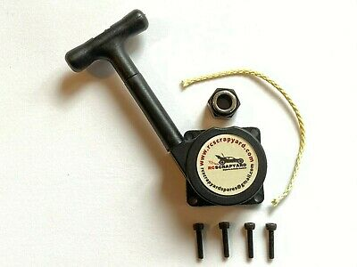 Nitro Pull Start *Unbreakable Cord !* + Bearing And Screws. Fits Most Engines • 15.99£