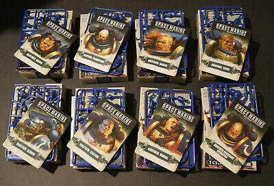 Space Marine Heroes Series 1 // Warhammer 40K - Ultramarines On Sprue • 8.35£