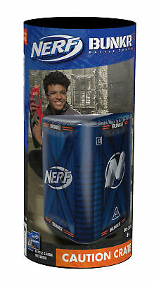 NERF Bunkr Battle Zones Take Cover Caution Crate • 9.99£