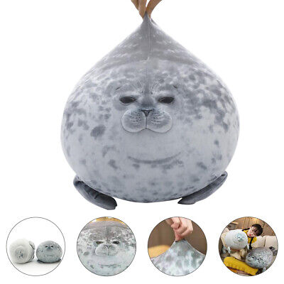 40/60cm Chubby Seal Plush Toy Animal Cute Ocean Pillow Pet Stuffed Doll Kid Gift • 18.99£
