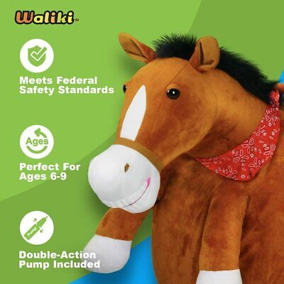 WALIKI Horse Hopper Ball For Kids Jumping Hopping Ball Sit & Bounce  • 19.99£