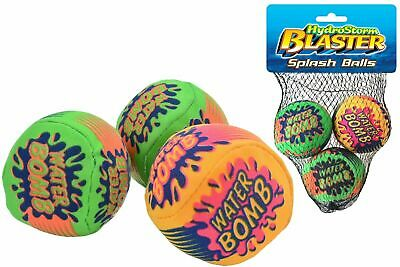 Pack Of 6 Splash Balls/Water Bombs  Fun For Kids Children Adults Pool Parties  • 5.99£