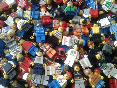 LEGO Mini Figures Genuine Bundle Mixed Characters Job Lot Bulk (Choose Your QTY) • 5.99£