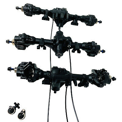 Traxxas TRX-6 TRX6 Front,Centre & Rear Axles With Diff Lockers Portals & Hexs • 249.99£