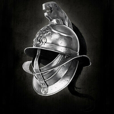 Spartacus Gladiator Helmet, Perfect For Stage, Costume Or LARP • 160£
