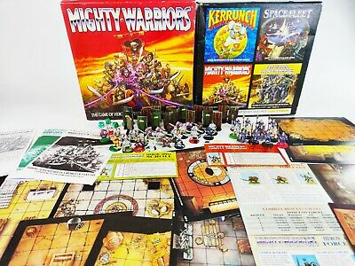 Mighty Warriors Board Game - Warhammer [ENG, 1991] • 99.95£