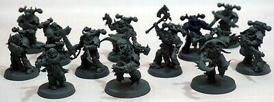 Warhammer 40k Chaos Space Marines 2 Greater Possessed  & 10 Marines (12 Models) • 26.99£