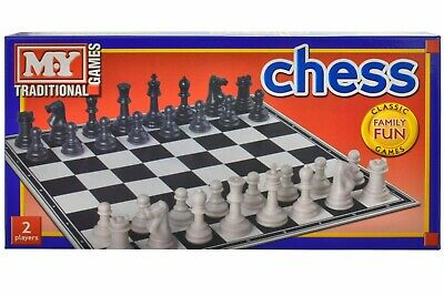 Classic Chess Set Traditional  Game Family Fun Kids Gift  • 6.99£