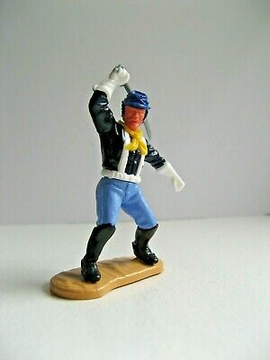 TIMPO - 7th CAVALRY UNION SOLDIER WITH SABRE OVERHEAD - WHITE GLOVES. • 25£