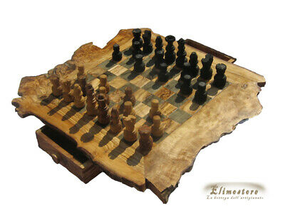 Chessboard IN Wood Of Olive 44 X 44 CM • 63.01£
