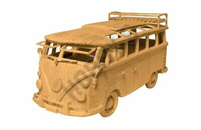 Hobby's Camper Van Matchstick Model Craft Kit • 20.95£