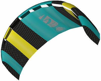 HQ Power Kite Symphony Beach III 1.8 Mtr Aqua Ready To Fly Outdoor Package • 49.99£