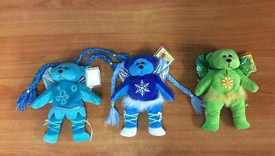 Lot Of 3 Beanie Kids - Trickle, Blizzard, Eco - Excellent Condition W/ Tags  • 13.74£