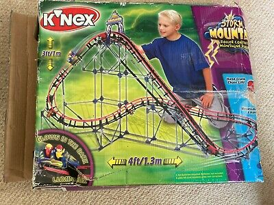 K'NEX Storm Mountain OFFERS Rollercoaster Construction Toy - Discontinued • 50£