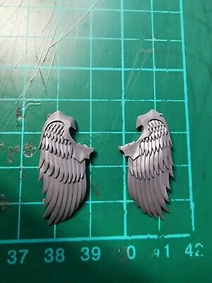 Warhammer 40k, Blood Angels Space Marine Sanguinary Guard Pair Wings Bits • 3.11£