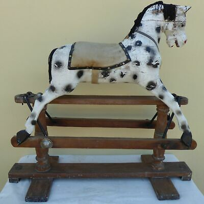 Antique Lines Brothers Sporty Boy C1920's Rocking Horse For Restoration • 300£