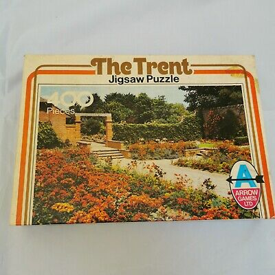 Vintage Arrow Games Jigsaw Puzzle 400 Pieces. The Trent Number 5576. • 14.99£