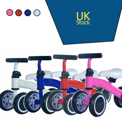 Baby Mini Balance Training Bike Toddler Pushing TRICYCLE For 1-2 Years Old • 16£