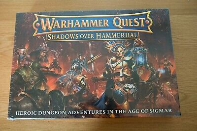 Warhammer Quest - Shadows Over Hammerhal - Age Of Sigmar - Brand New, Unopened  • 187£