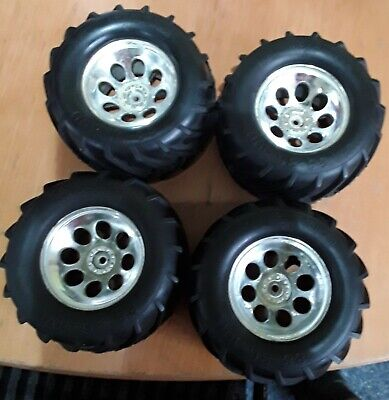 Kyosho Monster Truck Wheels And Tyres • 8.99£
