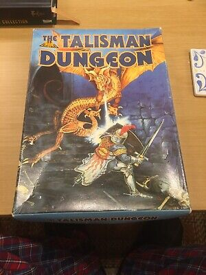 Games Workshop Talisman Dungeon Expansion Board Game Missing One Character Card • 28£