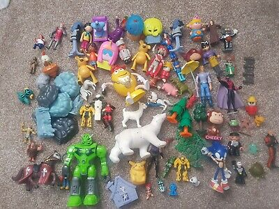 70 Action Figures McDonalds Toys Happy Meal Robot Minecraft Sonic Trees Animals • 3.99£