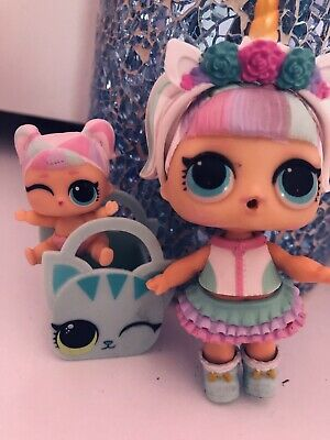 Unicorn LOL Doll And Lil Sister • 26£