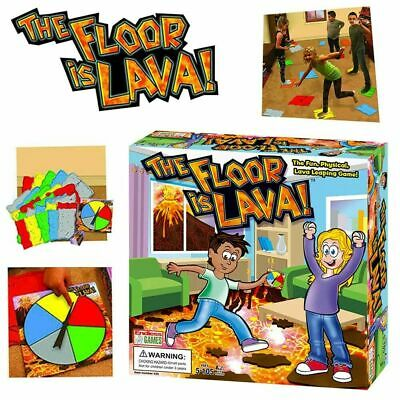 Lava Jumping! The Floor Is Lava! Interactive Board Fun Game Kid Adult (Ages 5+) • 12.39£