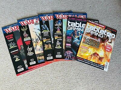 Wargames Illustrated Magazine & Tabletop Gaming Magazine 2019 6 Issues Warlord • 1.99£