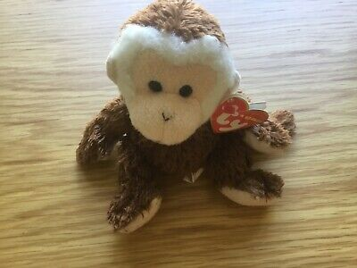 Hoodwink The Monkey Ty Beanie Original Baby, Tagged • 0.99£