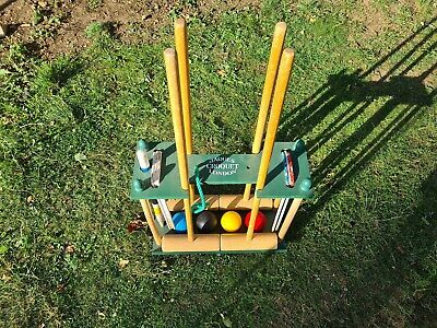 Jacques 4 Player Croquet Set • 41£