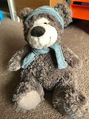 Teddy Bear With Hat And Scarf • 1£