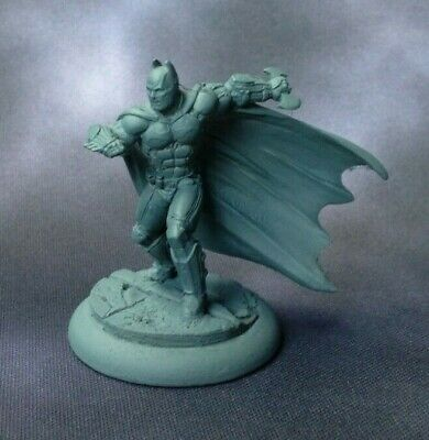 Arkham Origins Batman Miniature Knight Models OOP Metal • 4.99£