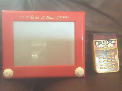 1970s Little Professor And Etch A Sketch FREE UK DELIVERY • 15£