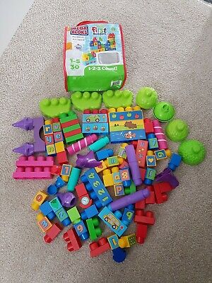 Mega Bloks First Builders 1-5 Years 70+ Pieces • 4.99£