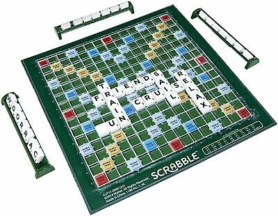 Family Fun Original Scrabble Board Game Crossword Compact Age 10+New & Sealed • 9.99£