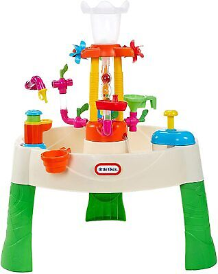 Little Tikes Fountain Factory Deluxe Water Table Activity Centre Learn & Splash • 63.90£