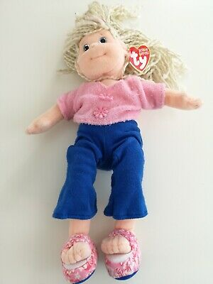 TY Beanie Boppers Doll With Tag -  Sweet Sally • 5£