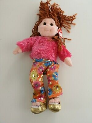 TY Beanie Boppers Doll With Tag - Snazzy Sabrina • 5£